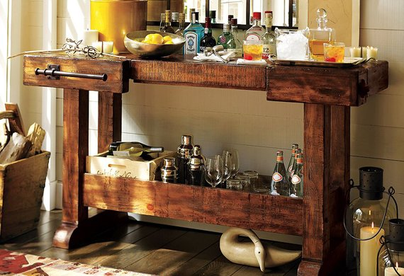 markham console bar cool material. Black Bedroom Furniture Sets. Home Design Ideas