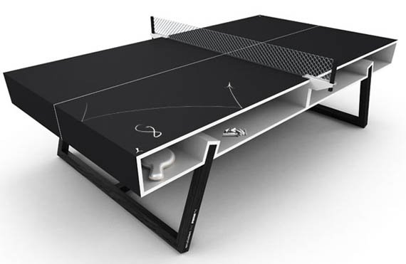 Puma Chalk Ping Pong Table Cool Material