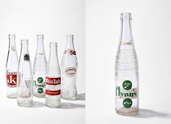 Vintage Soda Bottle Set