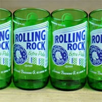 rolling-rock-beer-bottle-glasses