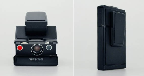 Impossible Project SX-70 Black Label Camera Kit