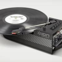 Ion Portable USB Turntable and Cassette Deck
