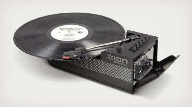 Ion Portable Usb Turntable And Cassette Deck Cool Material