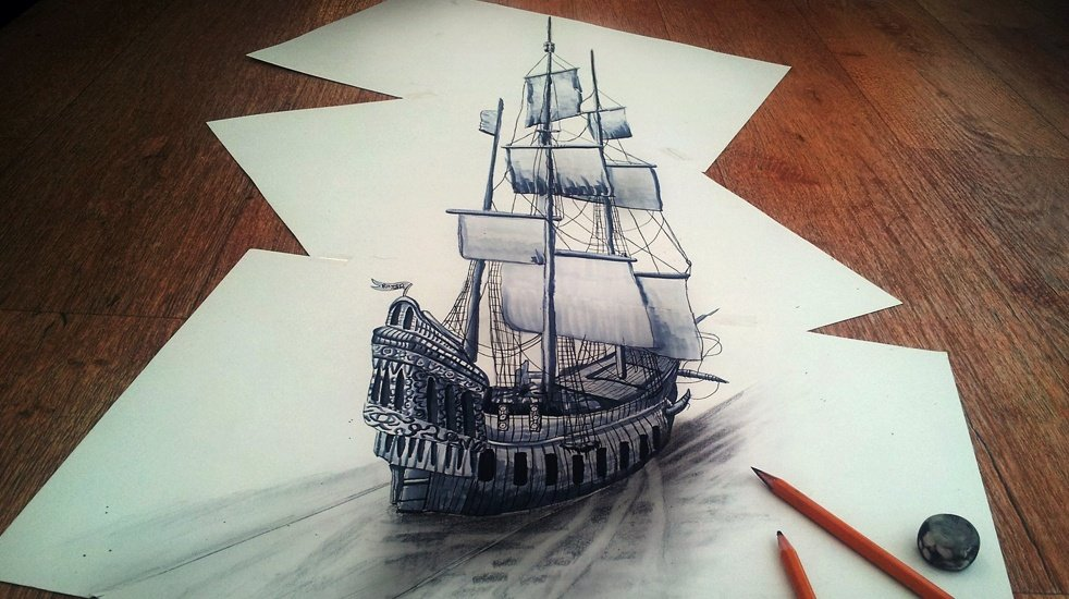 3d Pencil Drawings By Ramon Bruin Cool Material