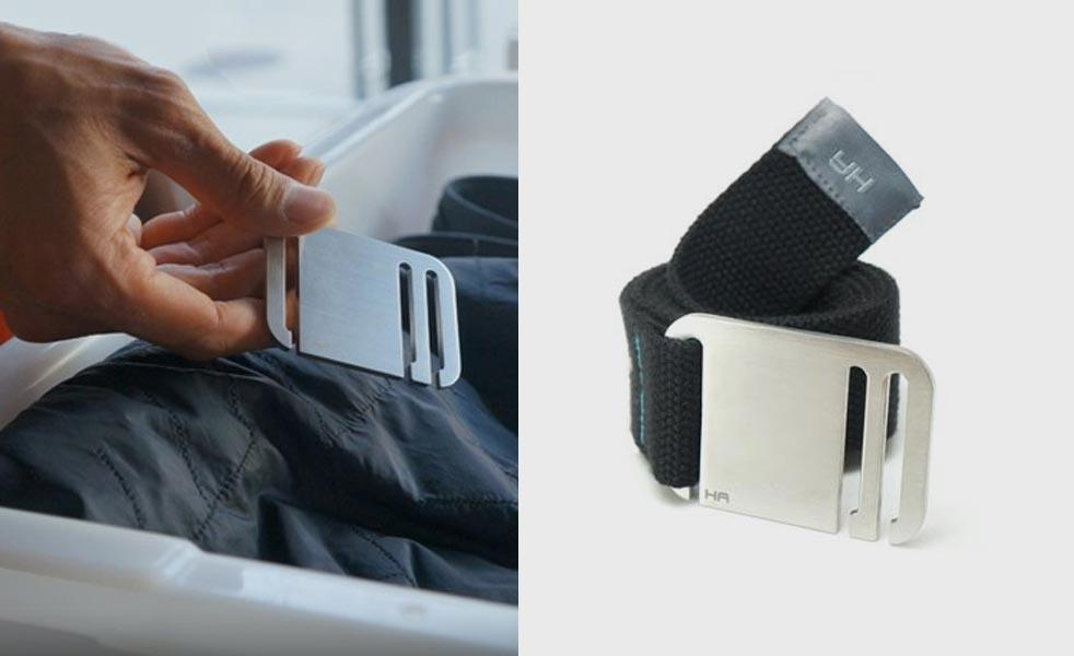 The Booyah Belt Makes Airport Security Easy Cool Material