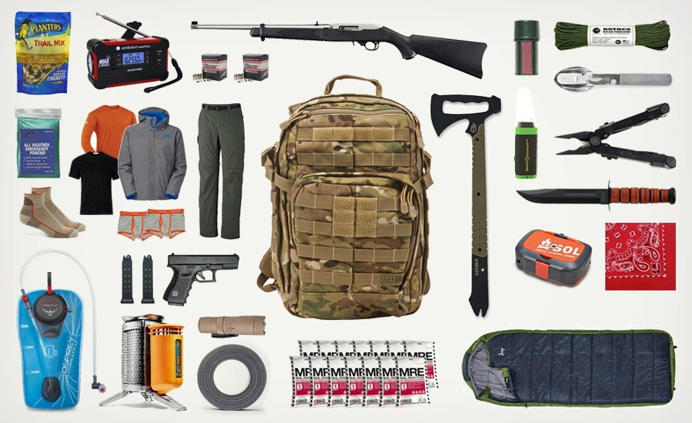 Bug Out Bag List Cool Material