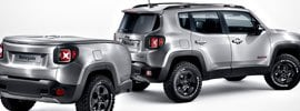 JEEP RENEGADE HARD STEEL WITH MATCHING TRAILER
