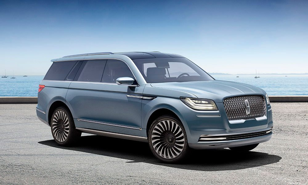 2017 Lincoln Navigator Concept | Cool Material