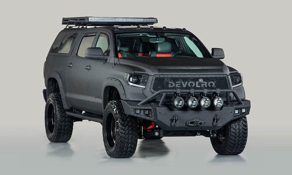 Devolro Diablo Armored Truck   Cool Material