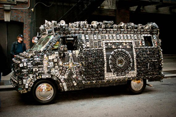 Insanely Decorated Cars and Vehicles  Cool Material