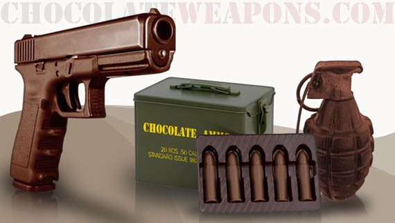 Chocolate-Weapons