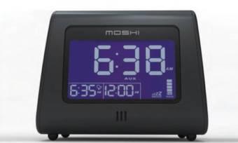 Moshi Voice Control Alarm Clock Radio