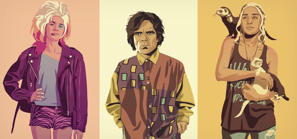 Game-of-Thrones-as-80s-90s-Characters-Prints-1