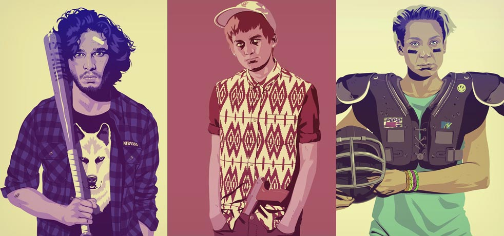 Game-of-Thrones-as-80s-90s-Characters-Prints-2