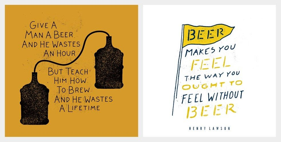 A Month of Beer Quotes | Cool Material