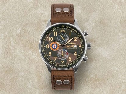 AVI-8-Camouflage-Watches