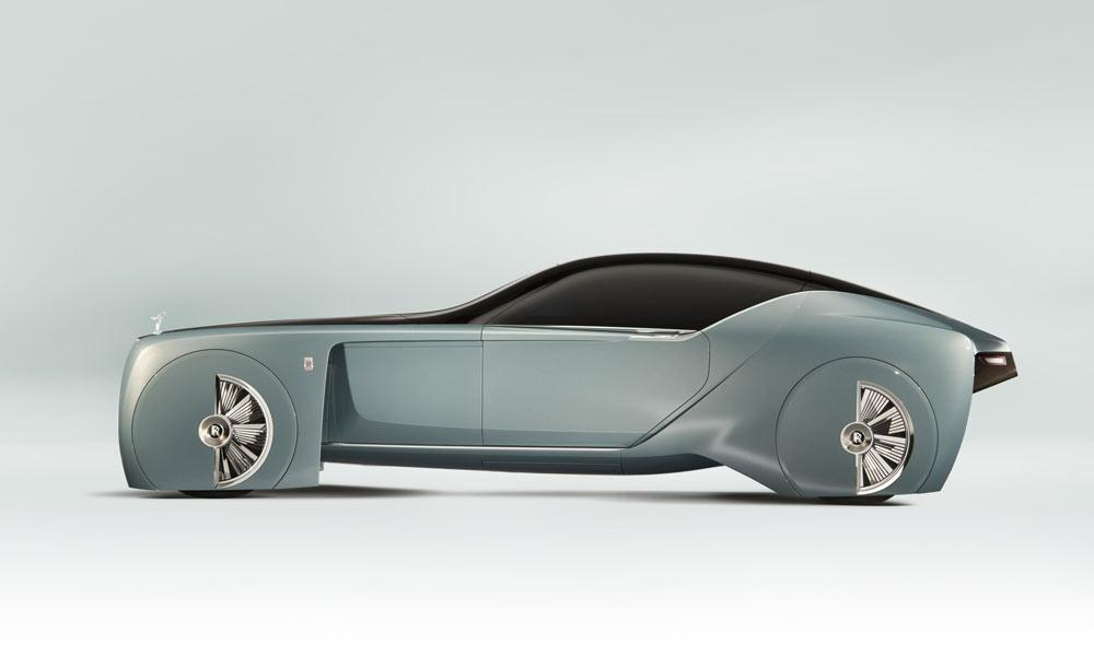 Rolls Royce Vision 100 Concept Car Cool Material