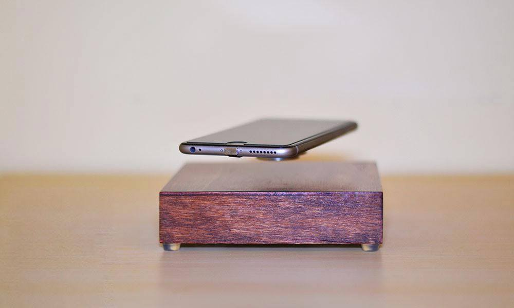 Levitating Wireless Phone Charger Cool Material