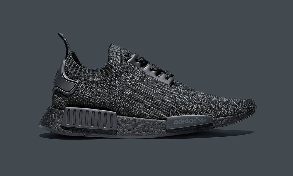 Adidas Nmd Pitch Black Cool Material