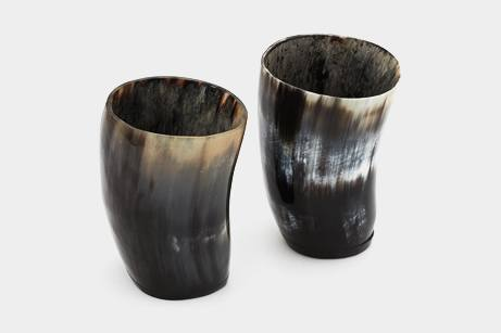 Steer-Horn-Drinking-Cups