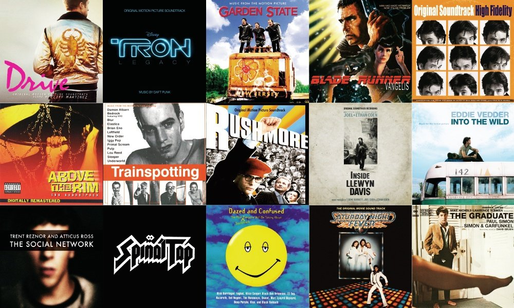 20 Best Movie Soundtracks Cool Material  Cool Material