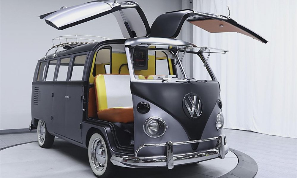 This VW Bus Was Made In Honor of 'Back to the Future'