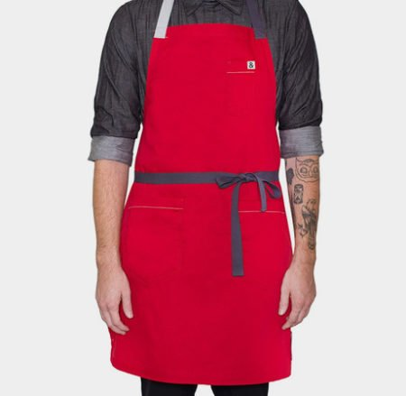 Hedley-&-Bennet-RED-Chefs-Apron