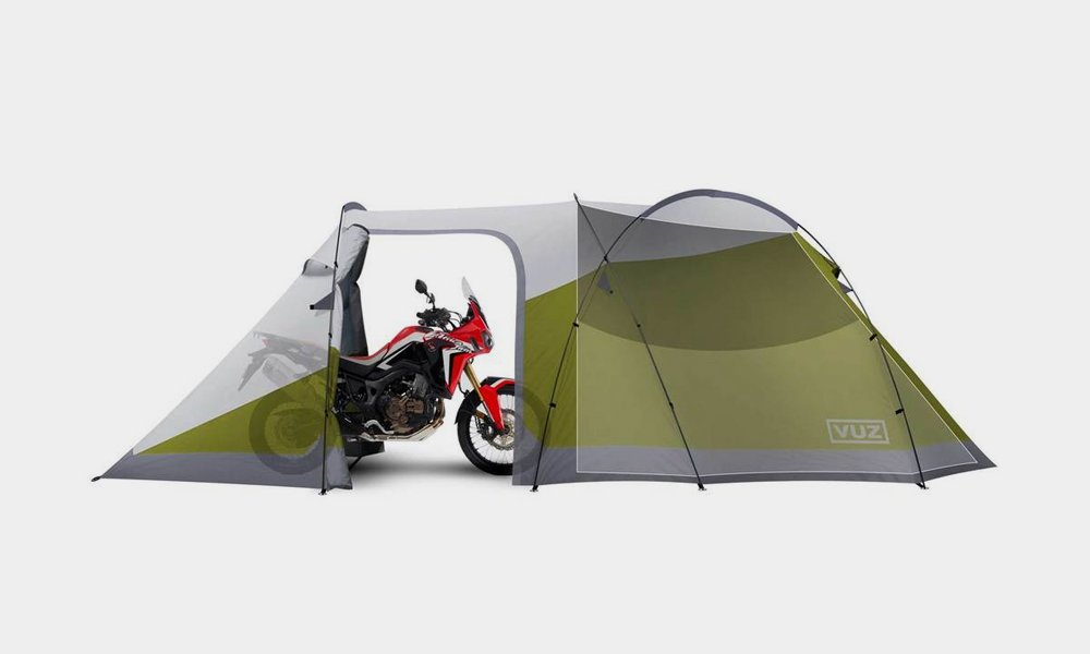 Vuz Made a Tent for You and Your Motorcycle