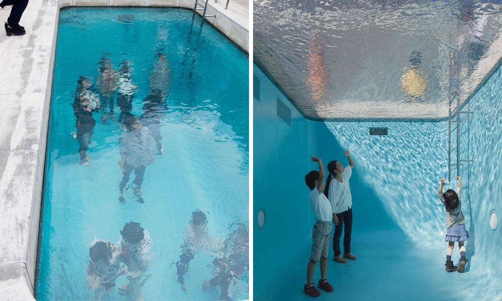 The Swimming Pool By Leandro Erlich Cool Material