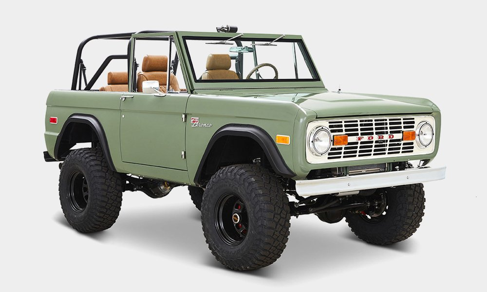 1973 Classic Ford Broncos 'Alta' Build