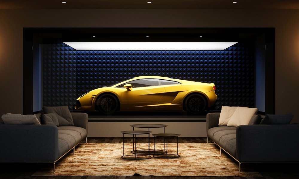 Supercar Capsule Is a Garage as Opulent as the Supercar You Display in It