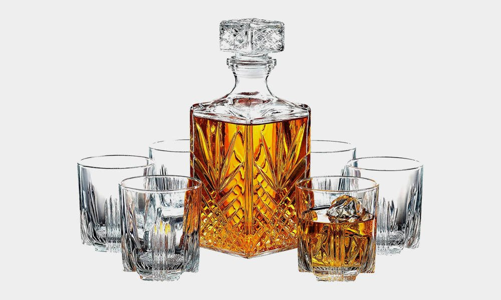 Paksh-Novelty-7-Piece-Italian-Crafted-Glass-Decanter-Whisky-Glasses-Set