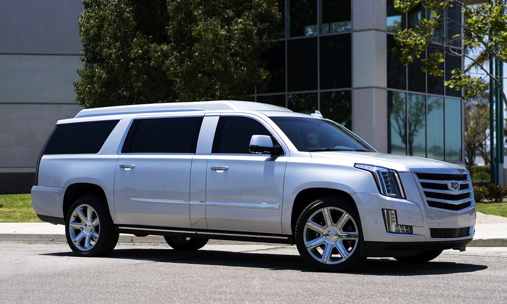 Tom Brady's 2018 Stretched Becker Cadillac Escalade Mobile Office Is for Sale