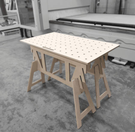 Direct-Wood-Multi-Function-Table
