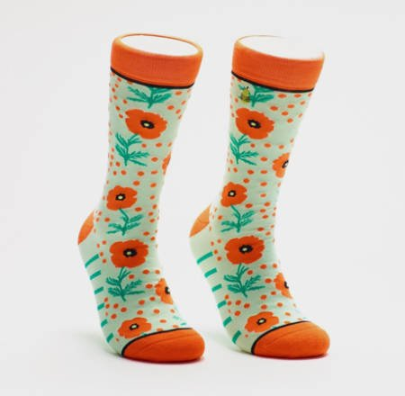 Poppy-and-Dot-Socks
