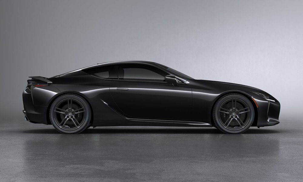2021 Lexus LC 500 Inspiration Series Coupe   Cool Material