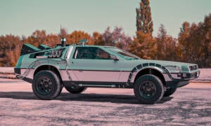 BradBuilds-DeLorean-DMC-12-Back-to-the-Future-Off-Road-1