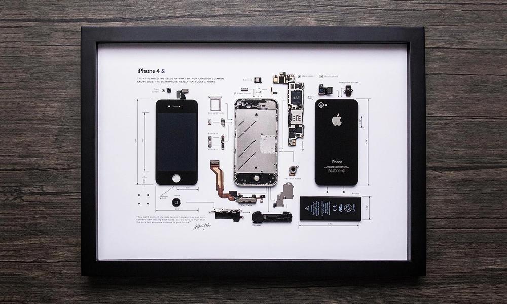 Grid Studio Framed Smartphones   Cool Material